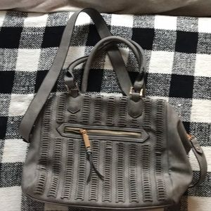Free People Crossbody grey purse